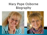 Mary Pope Osborne Biography PowerPoint