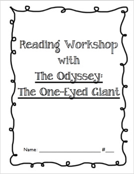 "Mary Pope Osbourne ""The One Eyed Giant"" Comprehension Guide"