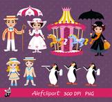 Mary Poppins Clip Art