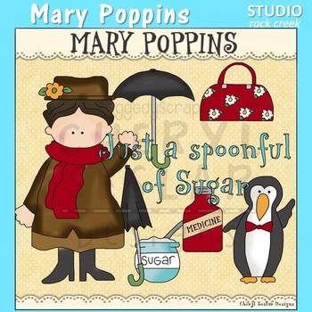 Mary Poppins Clip Art C. Seslar