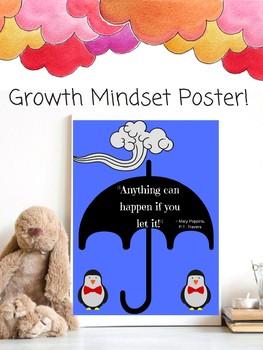 Mary Poppins Growth Mindset Classroom Decor Theme P. L. Travers