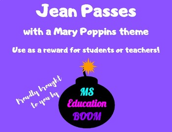Mary Poppins Jean Pass