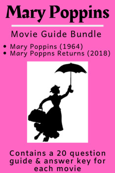 Mary Poppins Movie Guide Bundle (1964 and 2018)