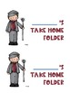 Mary Poppins Take home folder labels