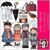 Mary Poppins clip art - by Melonheadz