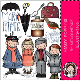 Mary Poppins clip art - COMBO PACK- by Melonheadz