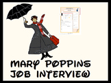 Mary Poppins job interview