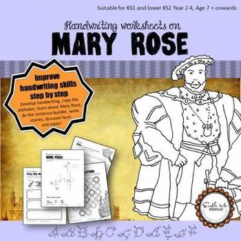 Cursive Handwriting Worksheets For 7 11 Years Mary Rose Tpt