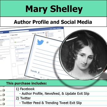 Mary Shelley - Author Study - Profile and Social Media