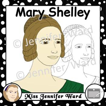 Mary Shelley Clipart