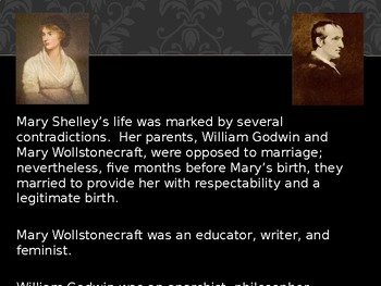 Mary Shelley (Frankenstein) Power Point