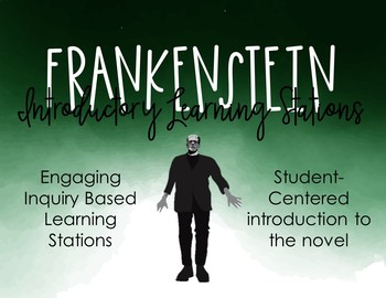 Mary Shelley's Frankenstein GRAPHIC NOVEL Introductory Stations