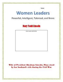 Mary Todd Lincoln Internet Research Guide