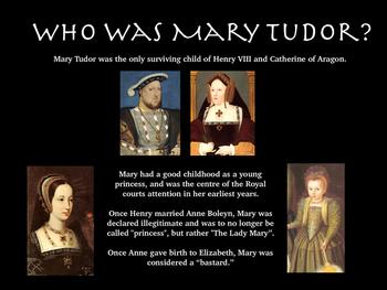Mary Tudor Lesson