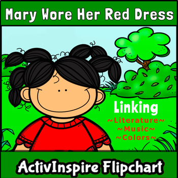 Mary Wore Her Red Dress Promethean Flipchart