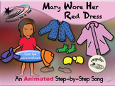 Mary Wore Her Red Dress - Animated Step-by-Step Song - Regular