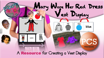 Mary Wore Her Red Dress Vest Display - PCS