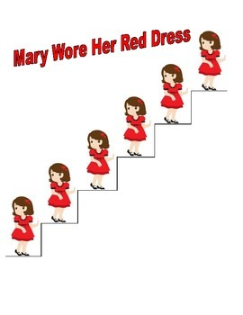 Mary Wore Her Red Dress Visual Aid