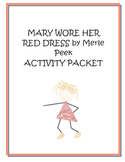 Mary Wore Her Red Dress Writing Activity Packet