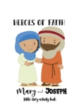 Mary and Joseph Bible Story Activity Book