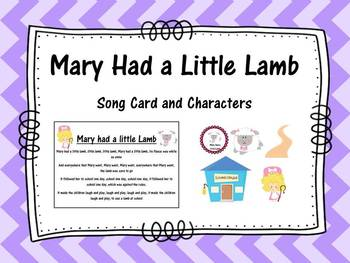 Mary had a Little Lamb- Song