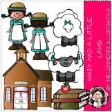 Mary had a Little lamb clip art - COMBO PACK- by Melonheadz