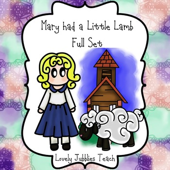 Mary had a little lamb Clip Art