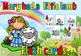 Mary had a little lamb flash cards(free for 48 hours))