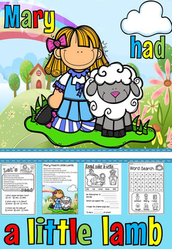 Mary Had A Little Lamb Read And Write