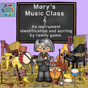 Mary's Music Class- Interactive Instrument Identification