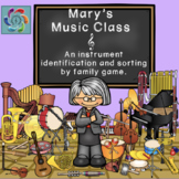 Interactive Music Game (instruments) Mary's Music Class
