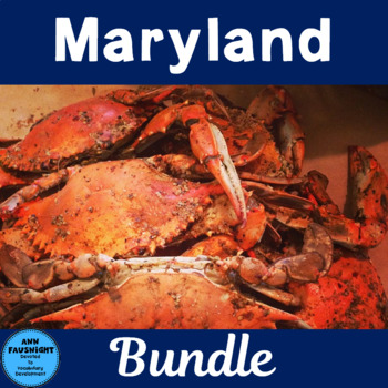 Maryland Activity Bundle