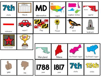 Maryland Adapted Books (Level 1 and Level 2)   Maryland State Symbols