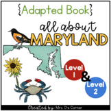 Maryland Adapted Books (Level 1 and Level 2) | Maryland St