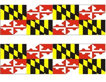 Maryland Flag Border