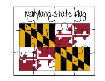 Maryland Flag Puzzle