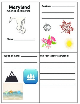 Maryland Geography