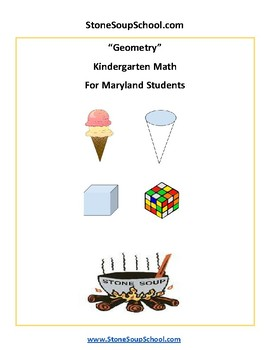Maryland  - Geometry - Common Core  - K Students