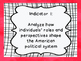 Maryland Grade 4 Social Studies I Can Statement Posters Wh