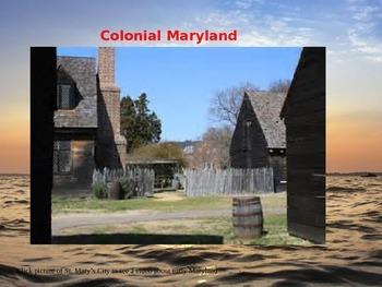 Maryland History - Part II