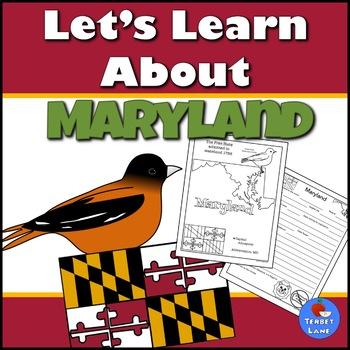 Maryland History and Symbols Unit Study
