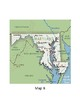 Maryland Map Activity for Kindergarten and First Grade