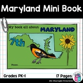 Maryland Mini Book for Early Readers - A State Study