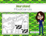 Maryland Postcard - Classroom Postcard Exchange