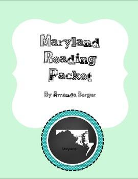 Maryland Reading Packet