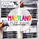 Maryland State Flipbook Interactive Activity for Social Studies