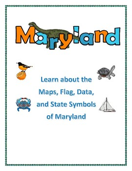 Maryland State Maps, Flag, Data and Geography Assessment