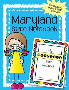 Maryland State Notebook. US History and Geography
