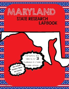 Maryland State Research Lapbook Interactive Project