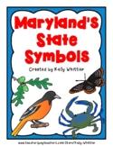 Maryland State Symbol Cards